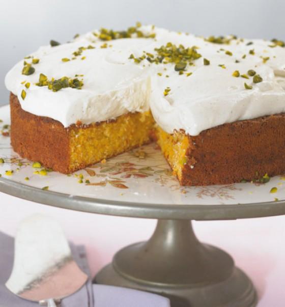 Möhren-Nuss-Torte