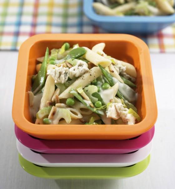 Penne-Salat mit Gorgonzola