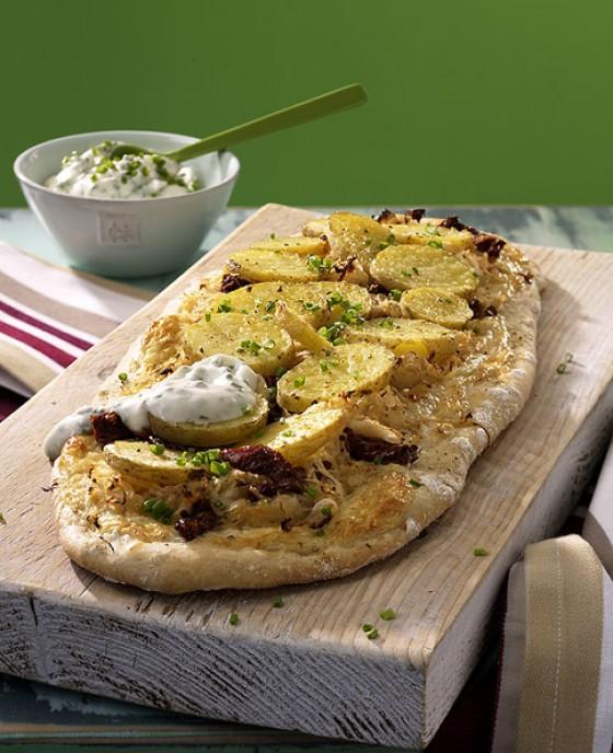 Pizza con Krauti