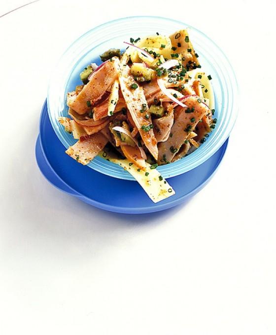 Puten-Käse-Salat