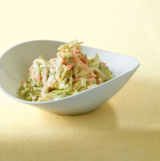 Schmand-Spitzkohl-Salat