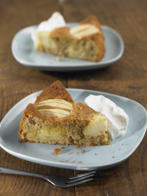 Schneller Apfel-Walnuss-Kuchen