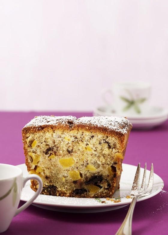 Schoko-Pfirsich-Kuchen