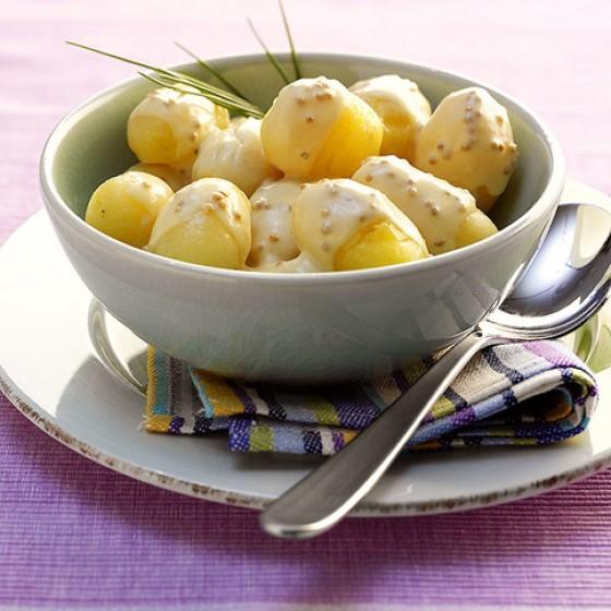 Senfsaucen-Kartoffeln