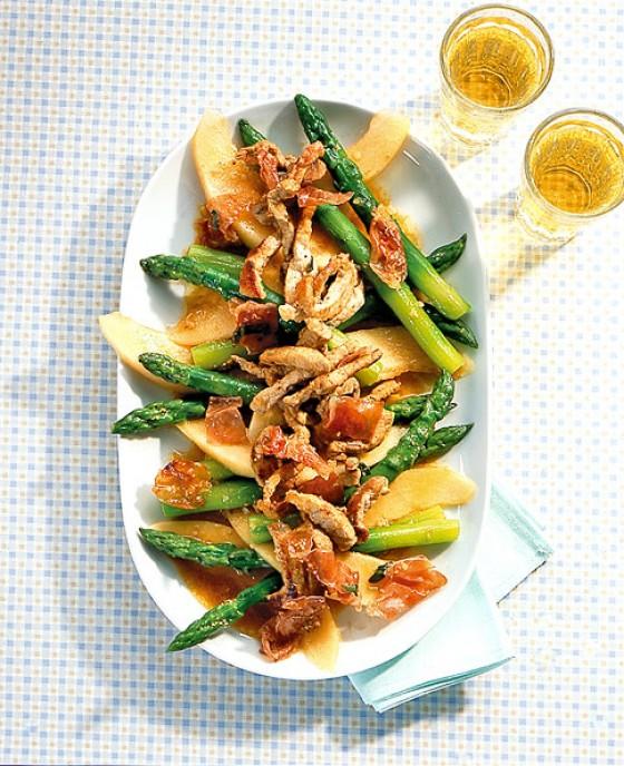 Spargel-Melonen-Salat