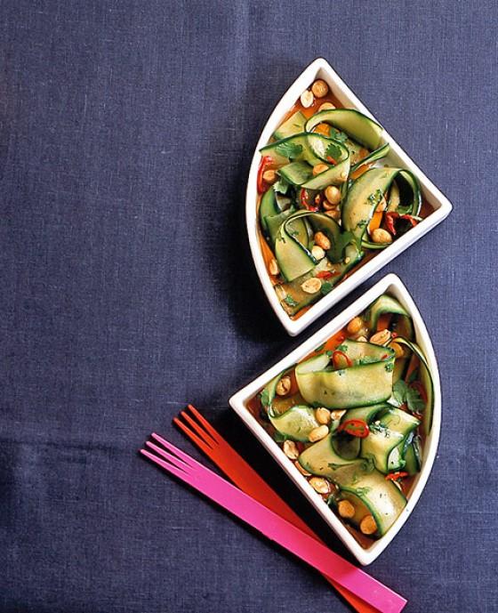 Thai-Gurkensalat