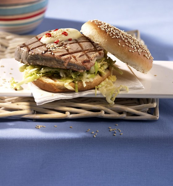 Thunfisch-Burger
