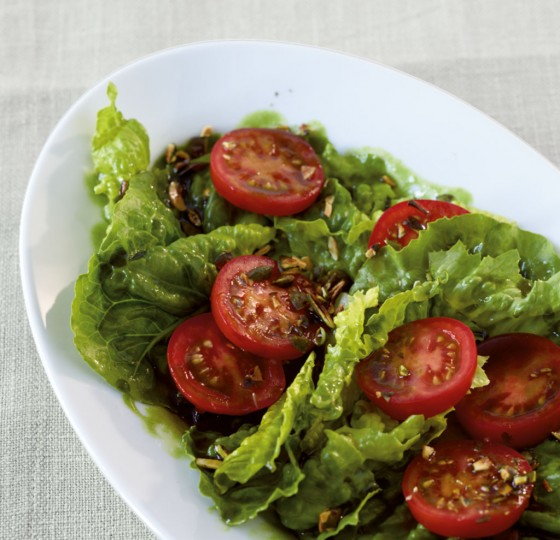 Tomaten-Römer-Salat