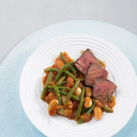 Tomaten-Bohnen-Ragout