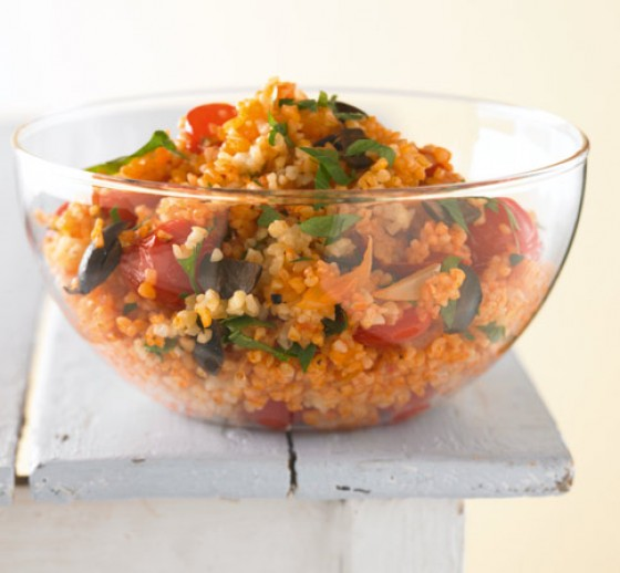 Tomaten-Bulgur