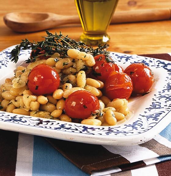 Weiße-Bohnen-Salat