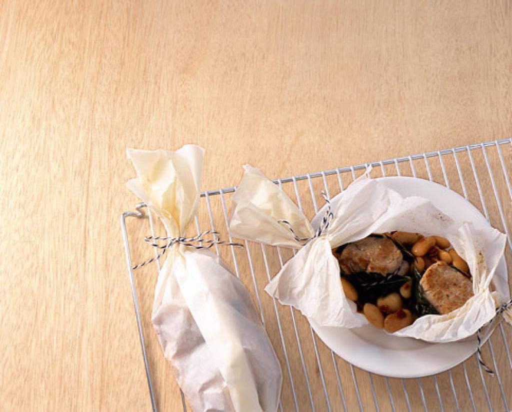 schweinefilet mit lorbeer rezept essen und trinken. Black Bedroom Furniture Sets. Home Design Ideas
