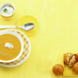 Mandarinen-Möhren-Suppe