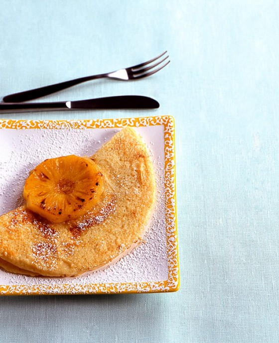 Ananaspfannkuchen
