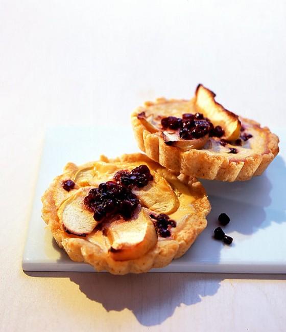 Apfel-Preiselbeer-Tartelettes