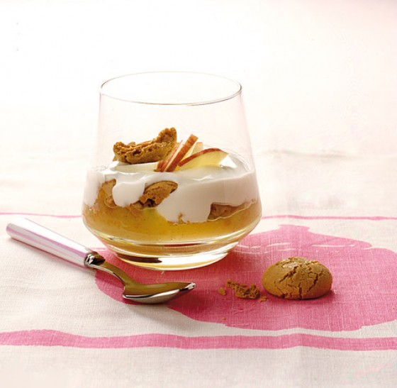 Apfelmus-Trifle