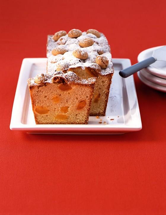 Aprikosen-Vanillekuchen