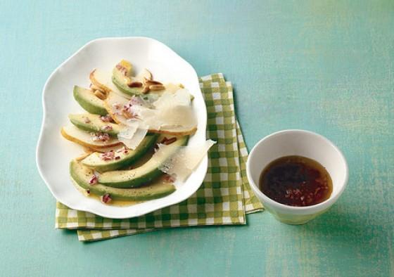 Avocado-Birnen-Carpaccio