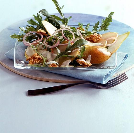 Birnen-Rauke-Salat
