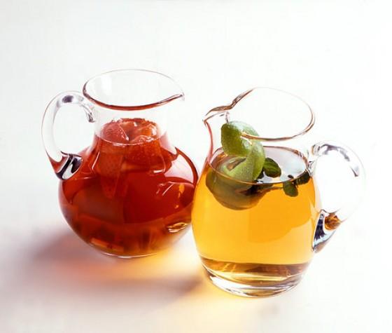 Erdbeer-Tee-Bowle