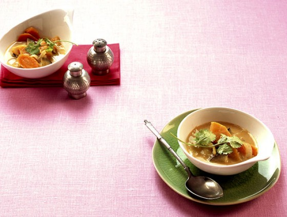 Gemüse-Kokos-Curry