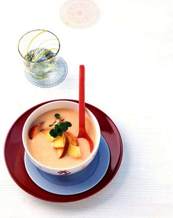 Kalte Pfirsichsuppe