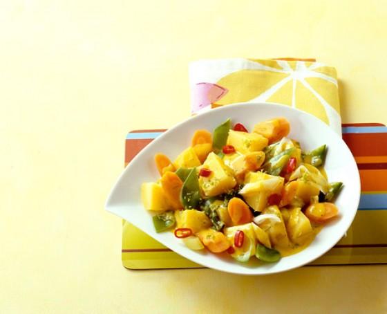 Kartoffel-Gemüse-Curry