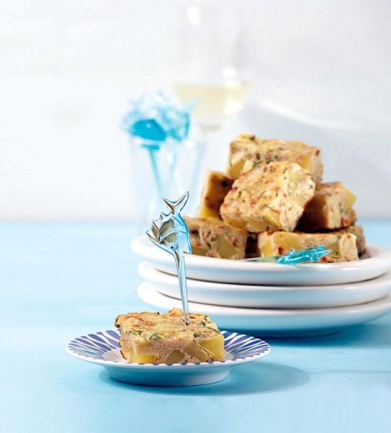 Kartoffel-Zucchini-Tortilla