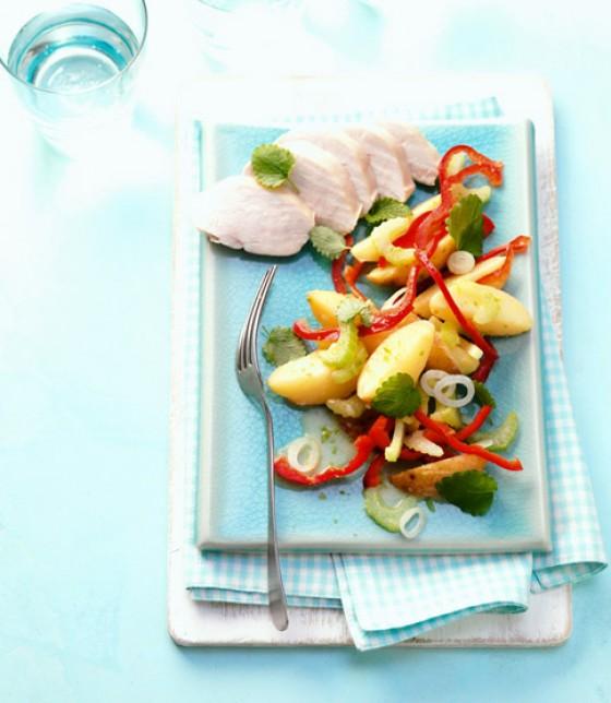 Hähnchen-Kraut-Salat - Salate mit Hähnchen - 1 - [ESSEN & TRINKEN]