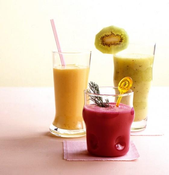 Kiwi-Bananen-Shake