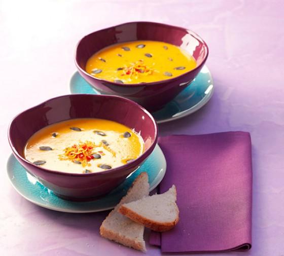 Kürbissuppe mit Orangengremolata
