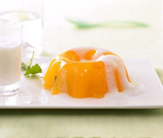 Orangen-Wackelpudding