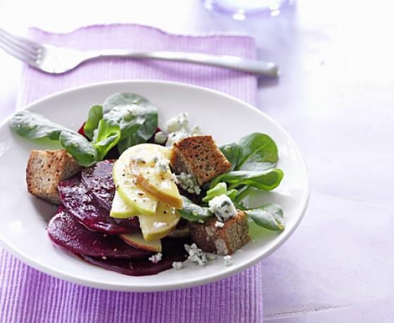 Rote Bete-Apfel-Salat mit Honig