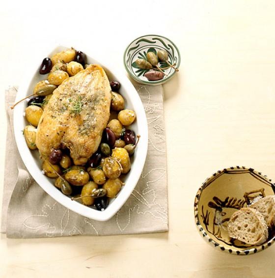 Spanische Hähnchenbrust mit Sherry