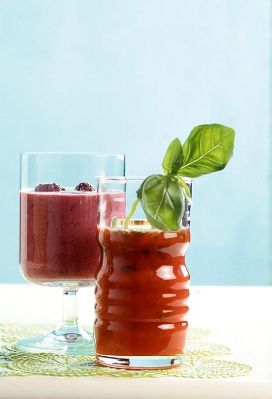 Tomaten-Orangen Cocktail