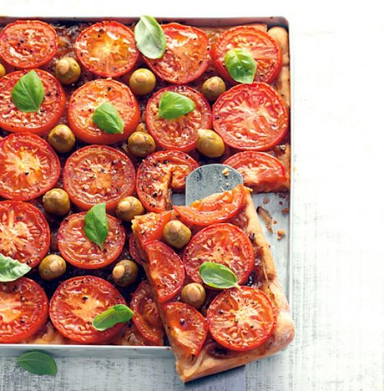 Tomatenkuchen vom Blech