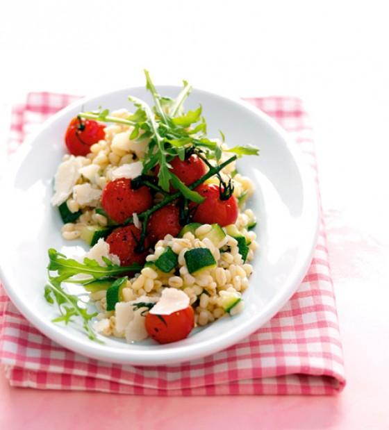 Zartweizen mit Zucchini
