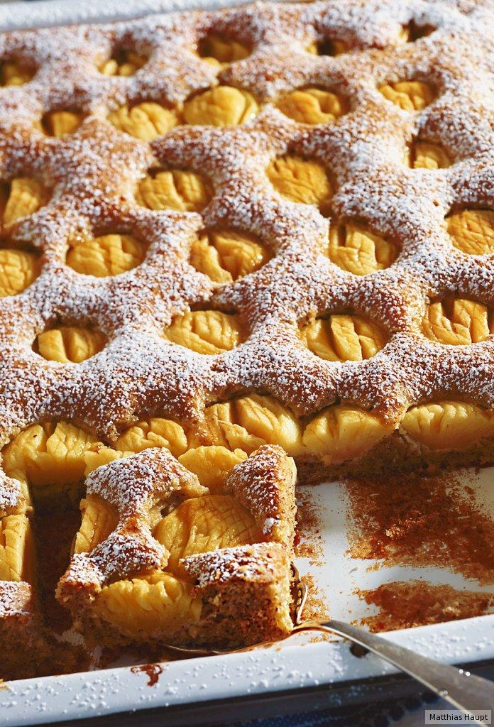 Apfelkuchen vom Blech ...