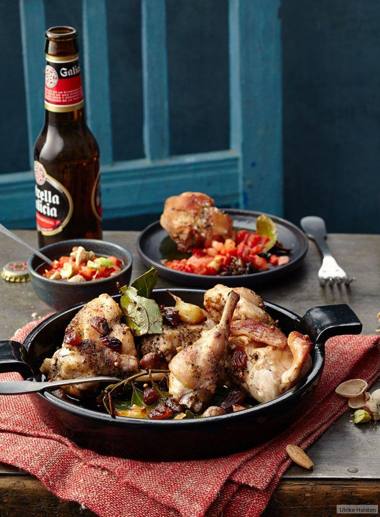 kaninchen mit romesco sauce rezept essen und trinken. Black Bedroom Furniture Sets. Home Design Ideas