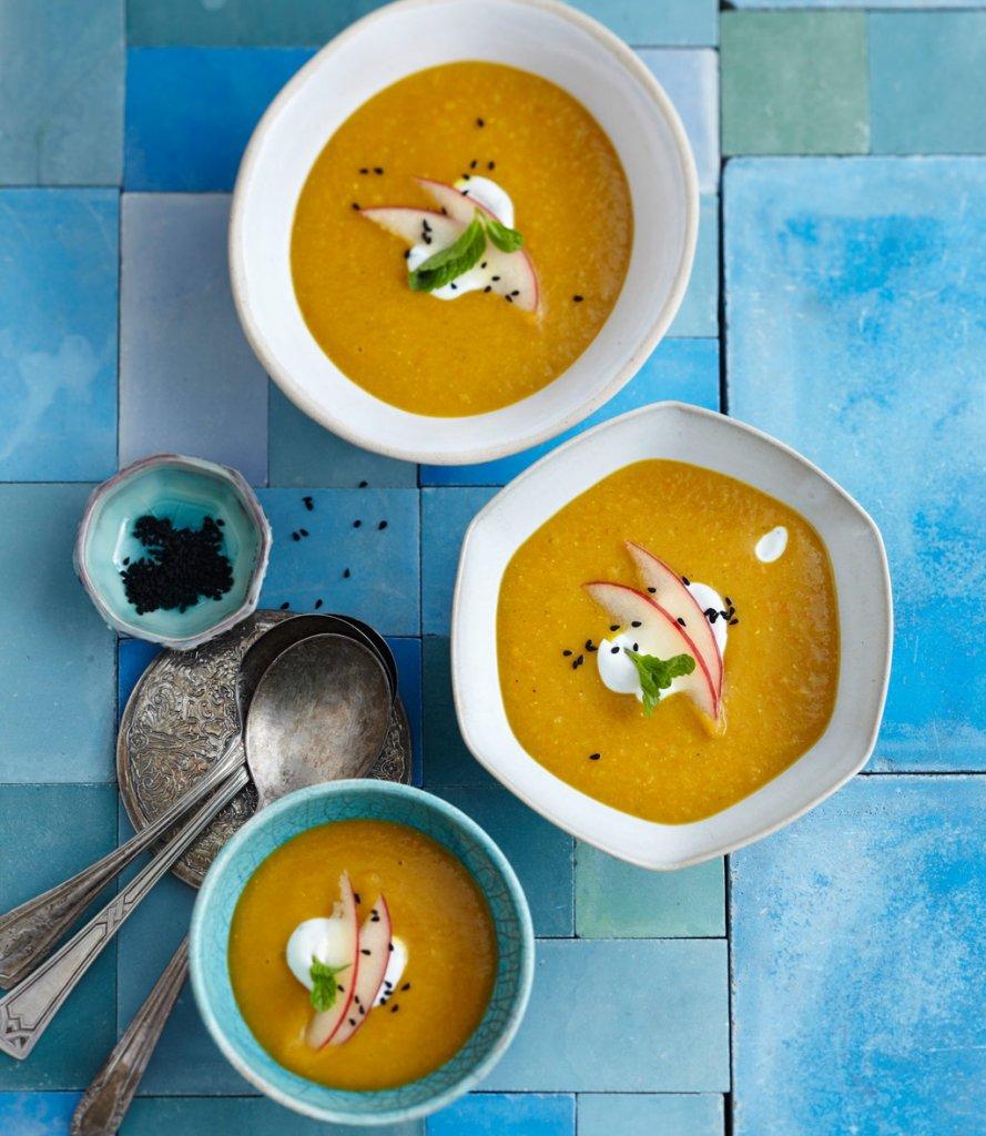 linsen kartoffel suppe mit harissa rezept essen trinken. Black Bedroom Furniture Sets. Home Design Ideas