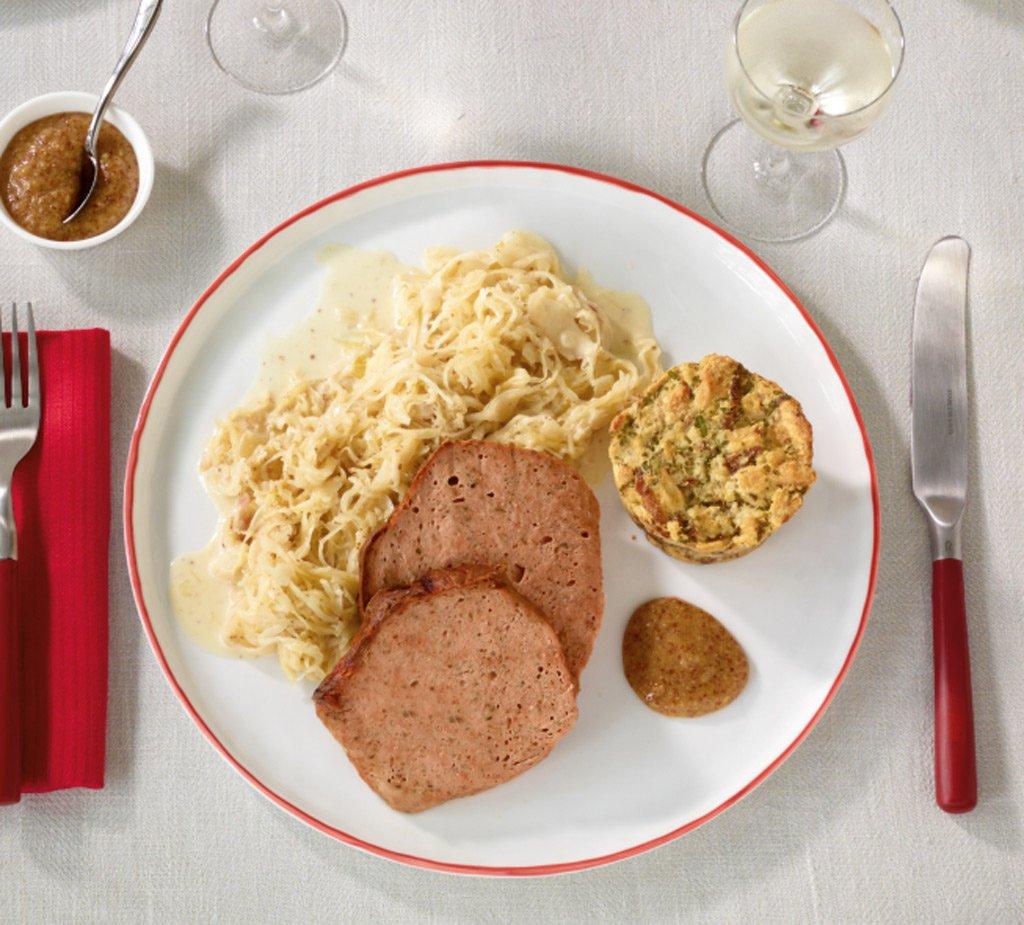 rahm senf sauerkraut rezept essen und trinken. Black Bedroom Furniture Sets. Home Design Ideas
