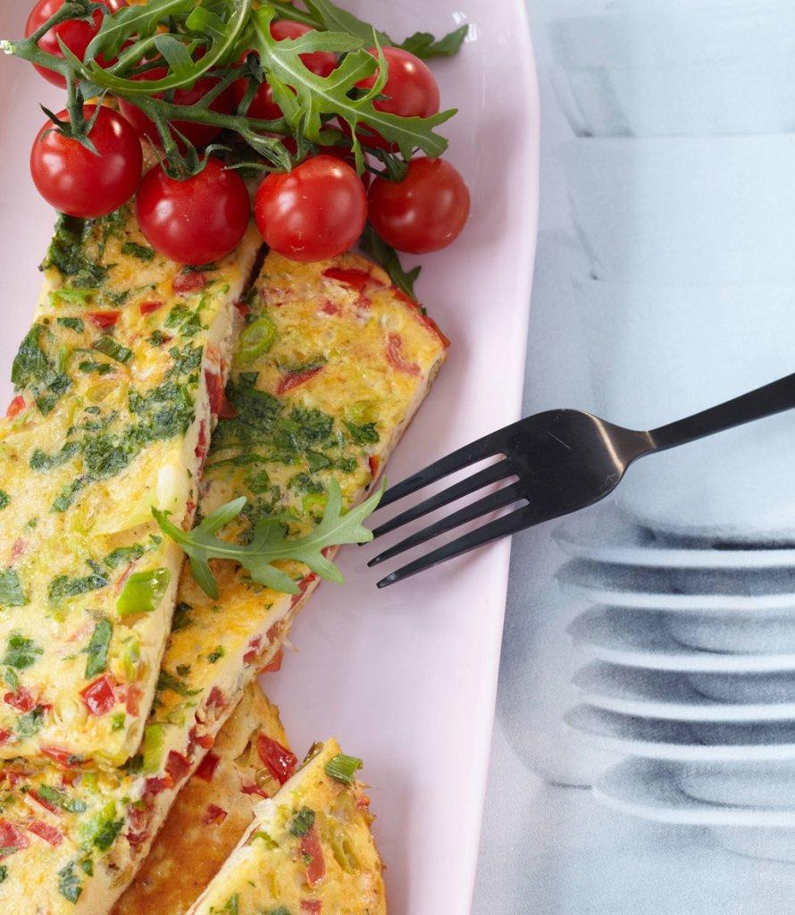 tomaten omelette rezept essen und trinken. Black Bedroom Furniture Sets. Home Design Ideas