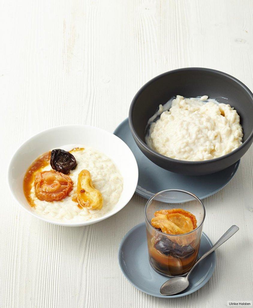 tonkabohnen risotto mit backobstkompott rezept essen und trinken. Black Bedroom Furniture Sets. Home Design Ideas