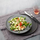 Blumenkohlsalat mit Räucheröl-Vinaigrette