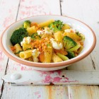 Broccoli-Linsen-Pasta