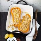 Butternut mit Haselnuss-Risotto