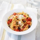 Frische Tomaten-Pasta