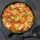 Gebackene Lachs-Pasta