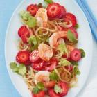 Glasnudel-Erdbeer-Salat