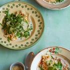 Grüner asiatischer Gemüseeintopf